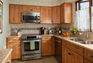 Paseo del Conejo Vacation Rental Kitchen