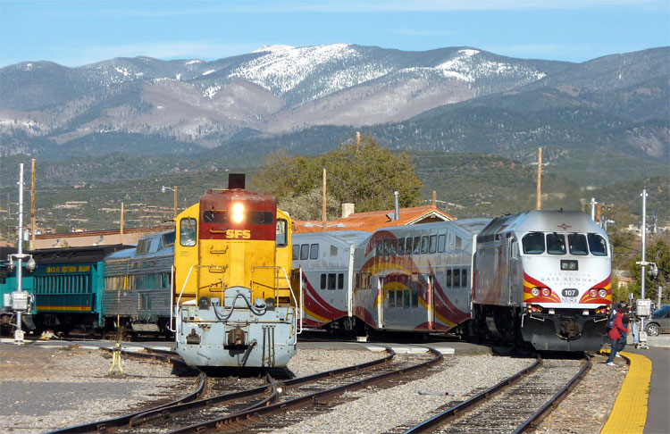 Scenic Train Rides And Travel Four Kachinas