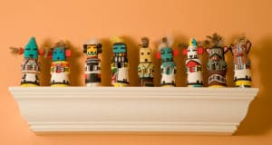 Four Kachinas Room decorations