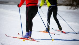 Cross-Country Skiing in Santa Fe