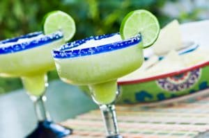 frozen margarita on the Santa Fe Margarita Trail