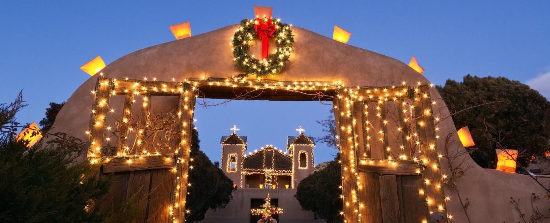 El Santuario de Chimayo Christmas